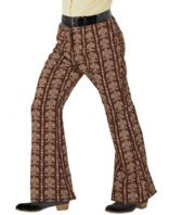 70's Groovy Flared Trousers Old School (09271)